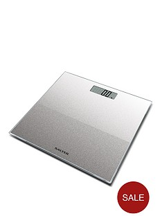 salter-silver-glitter-electronic-personal-bathroom-scale