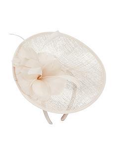 accessorize-gemma-flower-disc-fascinator-champagne