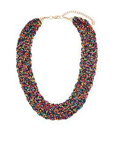 accessorize-gemma-beaded-bib-necklace-multi