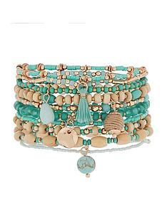 accessorize-positano-stretch-bracelet-pack-blue