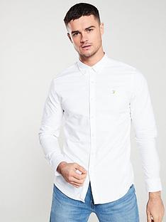 farah-brewer-long-sleeved-shirt-white