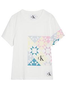 calvin-klein-jeans-girls-patchwork-print-t-shirt-white