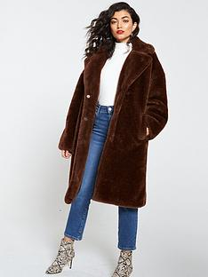 v-by-very-long-faux-fur-coat-toffee