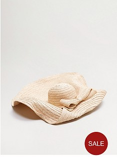 mango-bow-detail-large-floppy-hat-ecru