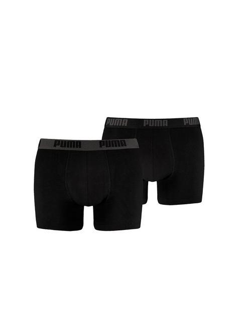 puma-puma-2-pack-basic-boxer-shorts-black