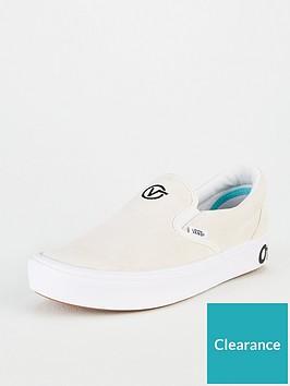 vans-comfycush-slip-on-plimsolls-whitenbsp