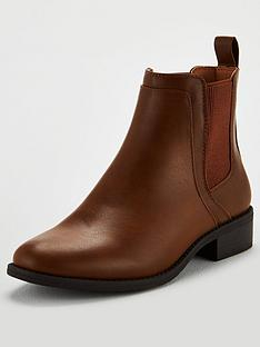 michelle-keegan-frankie-flat-chelsea-boots-tan