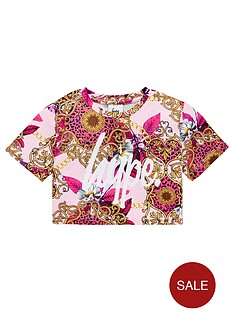hype-girls-brocade-cropped-t-shirt-pink