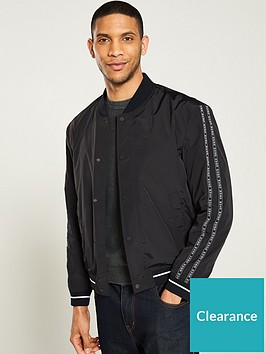 hugo-borrisnbspbomber-jacket-black