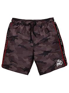 kings-will-dream-boys-marden-camo-swim-shorts-black