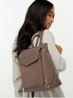 accessorize-ashton-zip-top-leather-backpack-mink