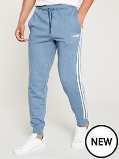 adidas-3-stripe-linear-logo-pants-blue