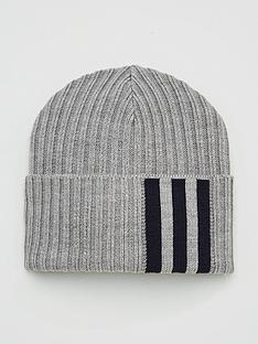 adidas-3-stripenbspwoolie-beanie-hat-medium-grey-heather