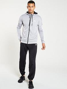 adidas-smu-hooded-3-stripe-tracksuit-grey