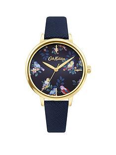 cath-kidston-cath-kidston-spring-birds-navy-dial-navy-saffiano-strap-ladies-watch