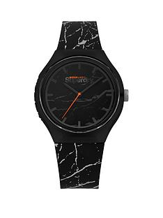 superdry-superdry-urban-xl-marble-black-dial-black-marble-silicone-strap-unisex-watch