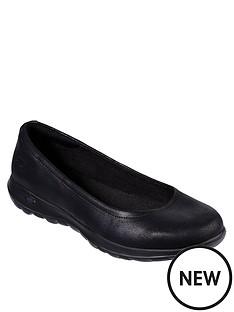 skechers-gowalk-lite-gem-ballerina-shoes-black