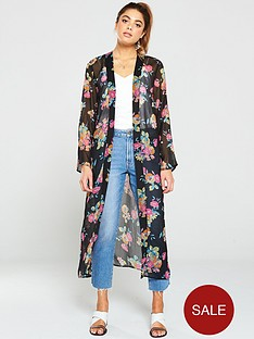 v-by-very-printed-floral-kimono-pink-floral