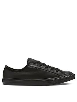 converse-chuck-taylor-all-star-leather-dainty-ox-plimsolls-black