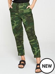 7e67cab500ed Printed Trousers | Trousers & leggings | Women | www ...