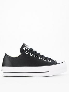 converse-chuck-taylor-all-star-platform-lift-clean-leather-ox-black