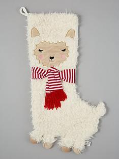 sass-belle-fa-la-la-llama-christmas-stocking