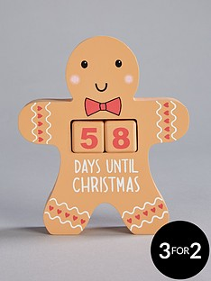 sass-belle-gingerbread-man-perpetual-christmas-countdown-decoration