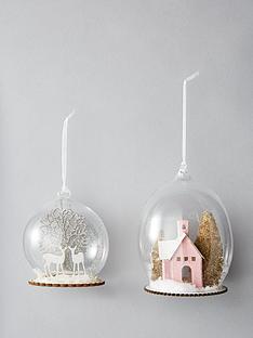 sass-belle-winter-scene-glass-christmas-tree-baubles-set-of-2
