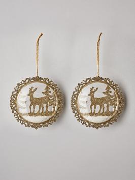 sass-belle-set-of-2-shimmering-gold-reindeer-baubles