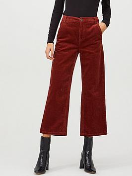 v-by-very-jumbo-cord-wide-leg-crop-trouser-rust
