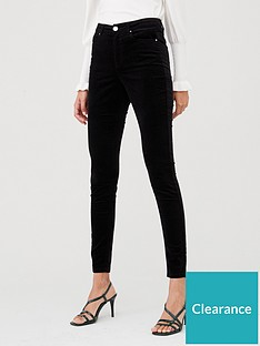 v-by-very-velour-skinny-trouser-black