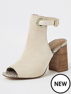 e4d69a886d7 River Island Shoeboot - White