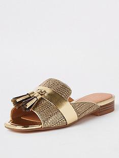 075e77ae02 Gold   River island   Shoes & boots   Women   www.littlewoodsireland.ie