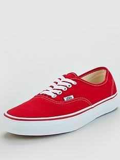 vans-canvas-authentic-red