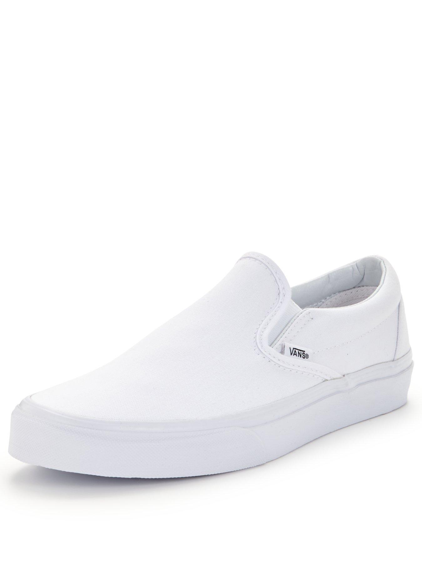 6 | White | Vans | Trainers | Women