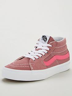 vans-sk8-mid--pinkwhitenbsp