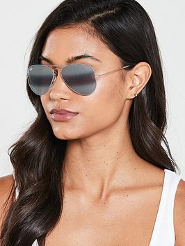 ray-ban-aviator-sunglasses--nbspgold-on-top-matte-grey