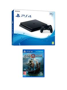 playstation-4-ps4-black-500gb-console-with-god-of-warnbspplus-optional-extras