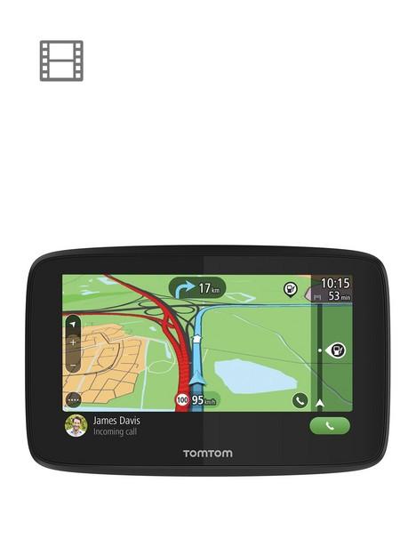 tomtom-go-essential-6-inch-sat-navnbsp--wi-fi-sirigoogle-now-integration-lifetime-traffic