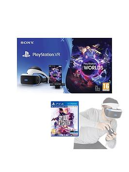 playstation-vr-starter-pack-with-blood-and-truth-and-optional-move-controllers