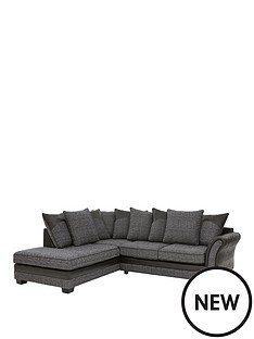 austin-fabric-and-faux-snakeskin-left-hand-corner-chaise-scatter-back-sofa