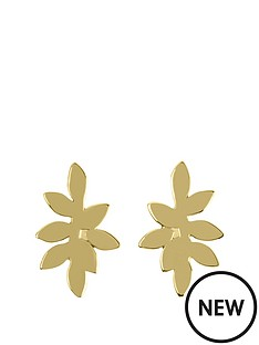 sara-miller-gold-leaf-stud-earrings