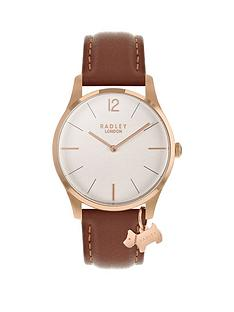radley-radley-luxury-every-day-white-and-rose-gold-dog-charm-dial-brown-leather-strap-ladies-watch