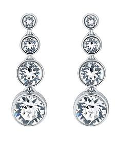karen-millen-crystal-flow-drop-earrings