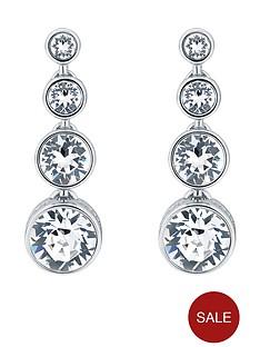 karen-millen-crystal-flow-drop-earrings