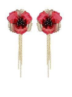karen-millen-karen-millen-camellia-flower-drop-earrings