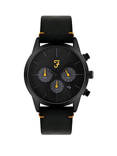farah-farah-black-and-yellow-detail-chronograph-dial-black-leather-strap-mens-watch