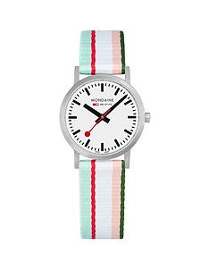 mondaine-mondaine-sbb-classic-white-30mm-dial-green-multicolour-stripe-textile-strap-swiss-made-watch
