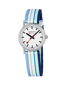 mondaine-mondaine-sbb-classic-white-30mm-dial-blue-multicolour-stripe-textile-strap-swiss-made-watch