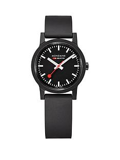 mondaine-mondaine-sbb-essence-black-32mm-dial-recycled-natural-rubber-black-strap-swiss-made-watch